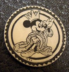 Ronald Proulx - King Mickey Mouse Mickey Love, Hobo Nickel, Old Coins, Walking Sticks, Metal Art, Making Out, Arrow, Knight, Cactus