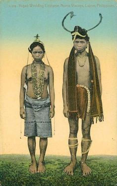 Ifugao wedding costumes circa Happy looking couple! Philippines Culture, Philippines Dress, Philippines People, Cultura Filipina, Old Photos, Vintage Photos, Filipino Culture, Filipino Art, Filipino Fashion