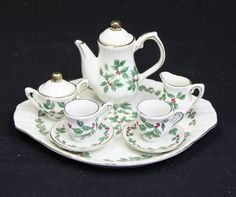 10 piece mini tea set by Baum Brothers FORMALITIES