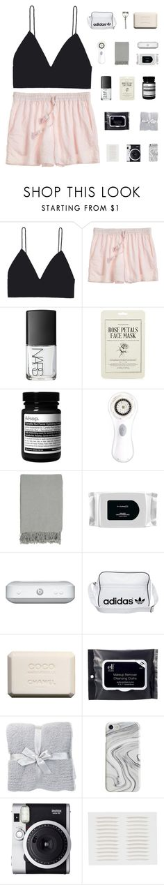 """""""like to join new taglist :)"""" by when-you-listen ❤ liked on Polyvore featuring Calypso St. Barth, NARS Cosmetics, Kocostar, Aesop, Clarisonic, Surya, MAC Cosmetics, adidas Originals, Chanel and Japonesque"""