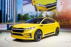 VW's Skoda names its stylish, all-electric crossover: Enyaq - Electrek Vw Passat, Subaru, Mazda, Peugeot, Vw E Up, Electric Crossover, Bmw 7, Volkswagen Group, Super Sport
