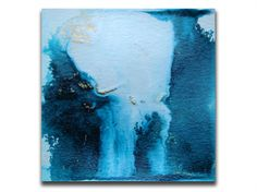 Abstract Art Painting Original Small Painting by MixmatchGIFTS