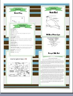 *FREE* Traveling the States Printables