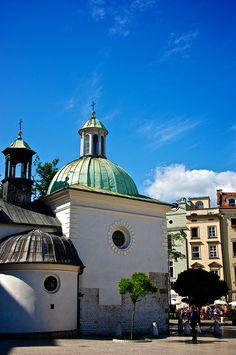 Church of St. Adalbert, Krakow, Poland   Flickr - Photo Sharing!