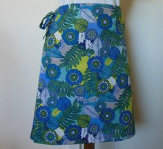 Wrap Around Skirt  Tropical Forest