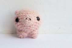 Free Amigurumi pig pattern by The Sun and the Turtle