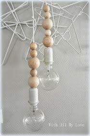 With All My Love: Valaisintehtaalta päivää! Lamp, Decor, House Interior, Furnishings, Interior, Lamp Shade, Inside A House, Diy Lamp Shade, Home Decor