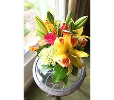 Wedding Arrangement in Naples FL, Posies, another wedding bouquet