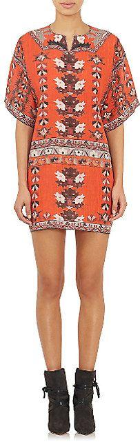 Isabel Marant Sully Shift Dress - Short - Barneys.com