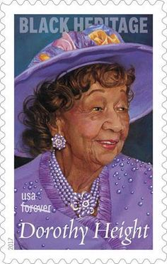 Civil Rights Activist Dorothy Height to Be Honored on 2017 U.S. Postage Stamp