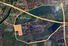 Vị trí chung cư HH4 Linh Đàm, Hoàng Mai, bán đảo Linh Đàm