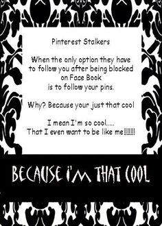 Pinterest Stalkers Defined