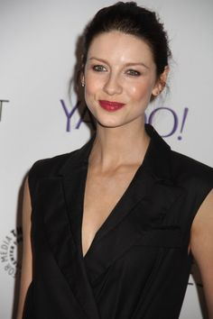 More HQ Pics of Caitriona Balfe, Sam Heughan and Tobias Menzies on the Red Carpet at PaleyFest | Outlander Online