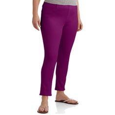 f7871b86 Faded Glory - Faded Glory Women's Plus-Size Ankle-Length Jegging - Walmart .com
