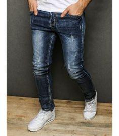 Modré pánske džínsové nohavice Pants, Fashion, Trouser Pants, Moda, Fashion Styles, Women's Pants, Women Pants, Fashion Illustrations, Trousers