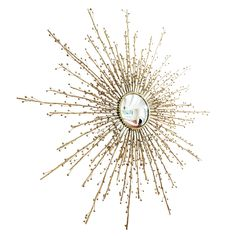 Imagine the enchanting touch you'll add to your home with this exquisite mirror. Berries Sunburst Brass Decorative Mirror #sunburstmirror #starburstmirror #homedecor #homedecorshop #homedecorshopping #homedecorationideas #uniquehomedecor #homedecoridea #interiordesigninspiration #homedecorate  $2247.50  ➤ http://bit.ly/2ENRaOy