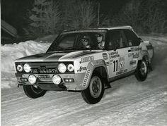 #Fiat #Rally #ralliautot #autot #Finland