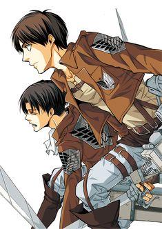 Rivaille & Eren Jaeger | Shingeki no Kyojin / Attack on Titan