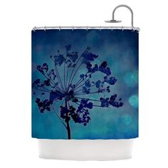 Kess InHouse Robin Dickinson Grapesiscle Shower Curtain