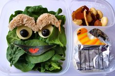 Check out this trash-tastic Oscar and Slimey inspired Bento Box...and then scram!