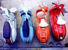 Vespa -- Literally had a dream last night that I had one in white weird
