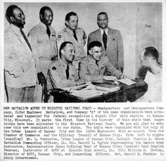 #TBT The first African-American troops joined the #MoNationalGuard in 1949 in Kansas City. #blackhistory
