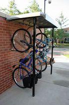 Range-vélo mural / en acier