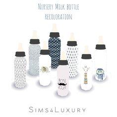 Nursery milk bottle recolors at Sims4 Luxury • Sims 4 Updates http://amzn.to/2tmzhkr