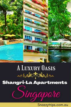 The Perfect Stay At Shangri-La Apartments Singapore 10 Travel Tours, Bali Travel, Travel Destinations, Travel Info, Travel Guide, Indoor Waterfall, Pool Waterfall, Singapore Sling Cocktail, Shangri La Hotel