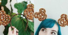 [TOPITRUC] Des oreilles de Mickey Bretzel Le Cordon, Crown, Top, Fashion, Pretzels, Cords, Rhinestones, Ears, Moda