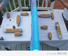 Battle Shots is the new Beer Pong // this would be a crackup in certain company. :-)