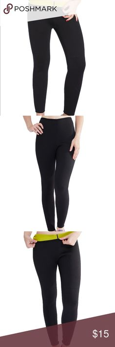 Sauna Thermo Pants 👖 Loose weight FAST!!! Amazing, thermo pants for cardio work out. Burn thousands of calories! This pair was way small for me. I am size 4. I wore it only once. I ordered L and lost 20 pounds just running 2 miles a day in those. #fatburner Other