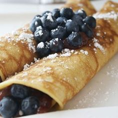 Vanilla Crepes | Crepes are made with extra vanilla for a heavenly aroma.