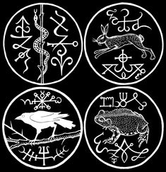 "Sigils & Symbols:  Cornish ""#Witch #Marks,"" Gemma Gary."