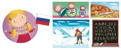 I'm Ready to Explore my World - Barbara Bongini #russia #world #country #flag #culture #food #childrensbook #illustration #kidlitart #barbarabongini
