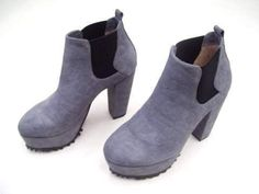 SENSO DIFFUSION REX GREY PRINTED SUEDE LADIES WOMENS DRESS SHOES BOOTS NEW