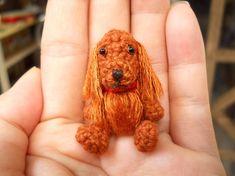 Irish Setter - Crochet Miniature Gundog Stuffed Animals - Made To Order