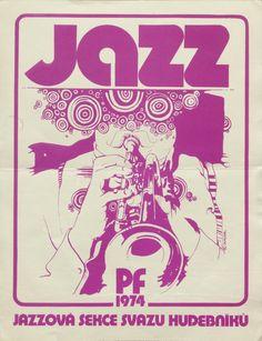 Modern Jazz Poster.
