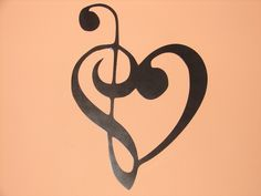 Metal Wall Art Decor MUSIC NOTES Musical Note Patio by artbyjack