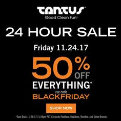 Black Friday Tantus Sale 2017 50% off silicone sex toys!