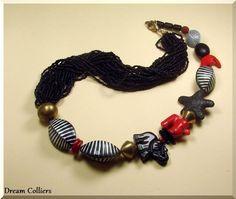 traumhafte Longkette Afrika von Dream-Colliers auf DaWanda.com