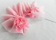 DIY Fabric Flower-rose-
