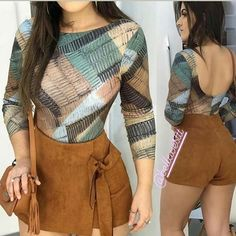 Two Piece Jumpsuit, Moda Instagram, Trendy Outfits, Fashion Outfits, Womens Fashion, Pants For Women, Clothes For Women, Clothing Hacks, Fashion Clothes
