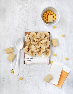 Pantone tart 7507 C | by Emilie de Griottes #banana #griottes