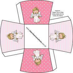Lindo Kit Digital Completo para você fazer o Batizado para sua pequena!