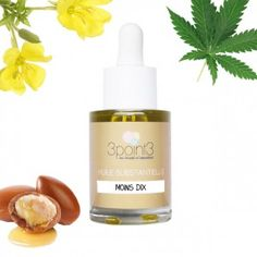 Synergie d'huiles végétales bio pour les peaux mature : chanvre, onagre et argan