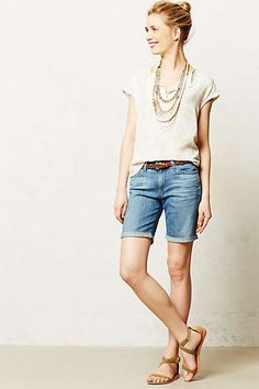 Anthropologie - AG Brooke Bermuda Shorts