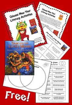 Classroom Freebies: Chinese New Year Literacy Freebie 2 grade or higher Chinese New Year Activities, Chinese New Year Crafts, New Years Activities, Holiday Activities, Classroom Activities, Book Activities, February Holidays, School Holidays, January