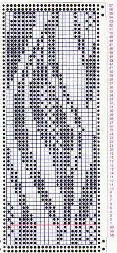 двухфонтурный жаккард перфокарты | Жаккард » Школа машинного вязания