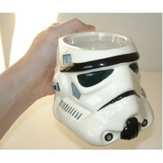 Who wouldn't want a storm trooper coffee mug.
